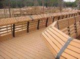Heißer Verkaufs-niedrige Kostenwasserdichter WPC Decking für im Freienfußboden