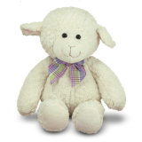 زغبة ليّنة لعب [ستثفّ نيمل] لعبة بيضاء سمينة قطيفة خروف
