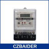 Contador del panel activo de Digitaces del control del vatio-hora la monofásico (DDS1652b)