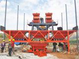 Venta de procesamiento por lotes por lotes concreta completamente automática del enemigo de la máquina de la construcción de una fábrica en ultramar