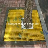FRP GRP Decrotive Grating Cover für Protecting Trees