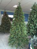 Albero di Natale gigante per visualizzazione commerciale con illuminazione completa di grado LED in su (fabbrica diretta)