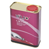 Wlio Auto Paint - Diamond Clear Coat 및 Hardener