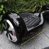 검정 2개의 바퀴 옥외를 위한 전기 E 균형 스쿠터를 균형을 잡아 6.5 인치 각자