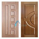 MDF/HDF de Huiden van de deur met het Natuurlijke Materiaal van het Vernisje van de Teak