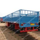 Vieh-Viehbestand der China-3 Wellen-60ton/Ladung-/Korn Transpor Stange-halb Schlussteil