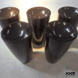 Ware Lavatório Sanitária / Acrílico sólida superfície pia do banheiro / Resina Pedra Bacia Banheiro