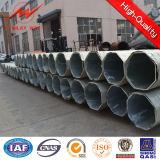 Kundenspezifischer Kraftübertragung-Winkel-Stahlrohr Pole