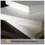 Tarjeta blanca de la espuma del PVC Celuka del color para las cabinas de cocina