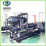 Refroidisseur d'eau refroidi à l'eau de vis de compresseur efficace élevé de Bitzer
