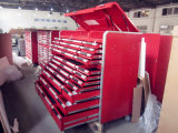 Modules d'outil en acier de mémoire d'atelier ; Cadre de 32 outils de tiroir