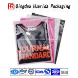 La bolsa de plástico de empaquetado impresa aduana superior de la ropa del sujetador del grado