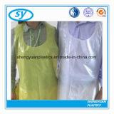 een kleurrijke Beschikbare Schort van het Polyethyleen