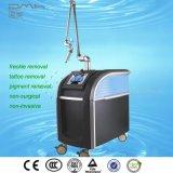 Máquina del retiro de la etiqueta de la piel del retiro del tatuaje del laser de la opción 755nm YAG de la calidad