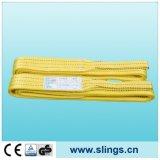Imbracatura piana pesante della tessitura della fibra di Sln Synthectic con gli occhi