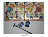 Stuk speelgoed van de Legering van het Stuk speelgoed van het metaal het Muzikale Opvlammende Lichte Hoogste Hoogste (813721)