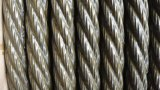 Corde lourde 6X19s+FC de fil d'acier d'Ungalvanized de graisse