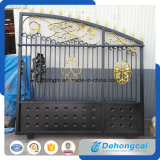 Garden Ornamental Classical Wrought Iron Gate / Door