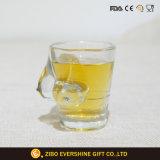 Rectángulo de empaquetado de consumición Shaped de tiro de la barra de la taza atractiva del vidrio