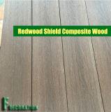 Decking di legno di plastica del terrazzo del composto WPC dello schermo