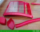 Porta de vidro da injeção do ABS do congelador da caixa (tamanho: 610*710mm), peças do congelador