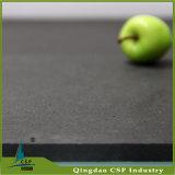 6mm schwarze Gummibodenbelag-Gymnastik für Crossfit