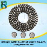 절단을 돌을 파내는 화강암 구획 화강암을%s 다이아몬드 철사 톱