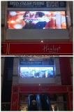 Écran visuel en verre d'étalage transparent de DEL pour la mémoire automobile