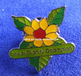 Butterfly Fitting를 가진 School 주문을 받아서 만들어진 Cartoon Metal Lapel Pin Badge