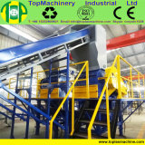 De Machine van het Recycling van de Fles van het Water van de populier voor HDPE van het Huisdier Fles met Hete Wasmachine