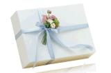 Caixa e sacos de papel de presente para presentes de Natal