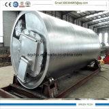 Caucho de 10 toneladas a la planta de la pirolisis de la refinería de petróleo