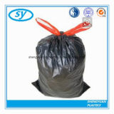 Sac d'ordures multi de cordon de couleur de HDPE