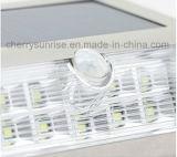 Support extérieur solaire bon marché de mur d'éclairage de lampe de détecteur de mouvement à vendre