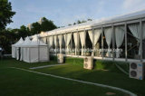 Tente blanche de toit de décoration de tente de mariage de chapiteau de garniture de 300 Seater