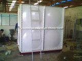 Envase del agua del tanque de pescados del tanque de almacenaje del agua de irrigación de la fibra de vidrio
