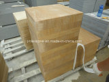 노란 Wood Grain Sandstone Tiles 또는 Yellow Sandstone Tiles