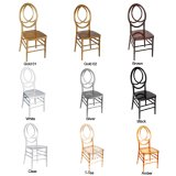 Madeira e PC Resina Prata Casamento Phoenix Infinity Chair