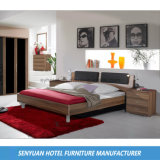 Muebles de madera del dormitorio de la estrella del hotel de la fabricación (SY-BS11)