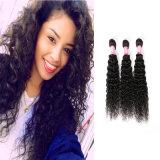 Brazalete de cabello humano brasileño Cabello curly rizado rizado extensión de pelo sin procesar