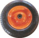 Carriola rossa Wb0200 del metallo