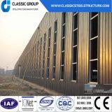 Almacén ligero moderno prefabricado de la estructura de acero
