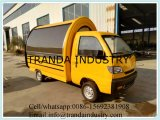 Carro comercial do trole do alimento/carro móvel do refrigerador do alimento