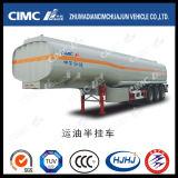 Cimc Huajun 40cbm Carbon Steel 2axle Fuel/Oil/Gasoline/Disel Tanker