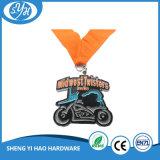 Die 2017 Großverkauf-Qualitäts-kundenspezifisches Funkeln Sports Medaille mit Farbband