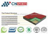 Настил суда спорта Spu Сотрясать-Абсорбциы с сертификатом Iaaf