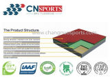 Iaafの証明書が付いている衝撃を与え吸収Spuのスポーツ裁判所のフロアーリング