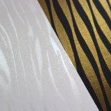 La melamina metálica impregnó el papel para los muebles, tarjeta laminada