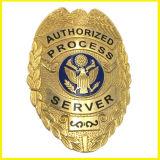 Gold überzogene Metalllegierungs-Armee-Abzeichen