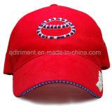 組み立てられた綿のあや織りサンドイッチ刺繍のゴルフスポーツの帽子(TM1120)